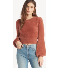 astr women's sorbet top in color: mauve size xs from sole society