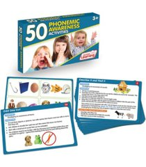 junior learning 50 phonemic awareness activities learning set