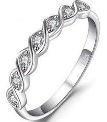 anillo cintillo encantado casual plata arany joyas