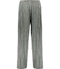01845-99 glanzend plisse broek