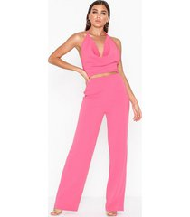 nly one waterfall open back jumpsuit jumpsuits