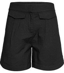 slfcecilie mw shorts b shorts flowy shorts/casual shorts svart selected femme
