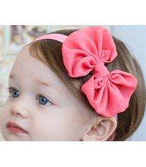 12pcs baby girl's chiffon/satn headband hair bow tie hair accessories