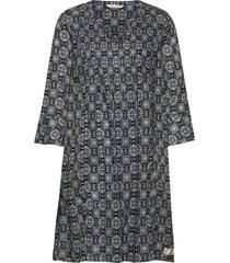 soul of sunshine dress korte jurk blauw odd molly