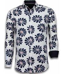 overhemd lange mouw tony backer blouse big leave pattern