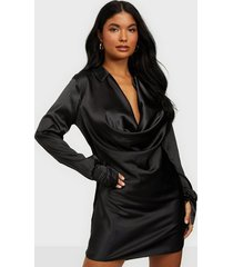 nly one satin shirt dress loose fit