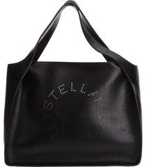 borsa donna a spalla shopping stella logo