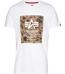 camo block t t-shirts short-sleeved vit alpha industries
