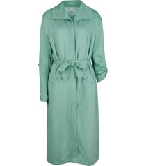 giacca modello trench  in viscosa (verde) - bpc bonprix collection