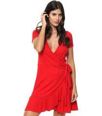 vestido rojo vespertine