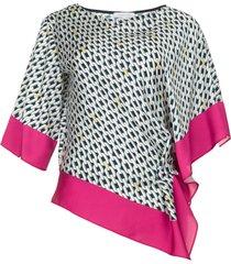 blouse met print amanda  multi