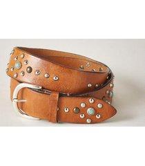 sundance catalog women's blossom & thyme belt in cognac large