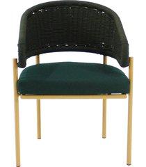 cadeira com braco sunset corda nautica
