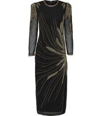 maxi jurk kralen nieuwjaar