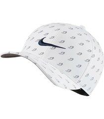 gorra de golf nike aerobill classic99-azul-blanco