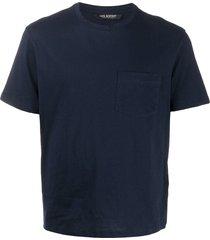 neil barrett travel multiyarn t-shirt - blue