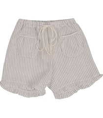 babe & tess striped shorts