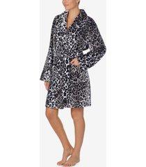dkny plush cozy wrap robe