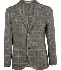 boglioli houndstooth pattern blazer