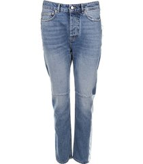 golden goose deluxe brand jeans happy trousers blauw