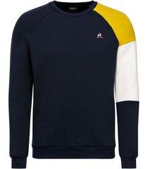 sweater le coq sportif sweat tricolore