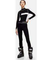 *black jersey ski leggings by topshop sno - black