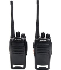 combo 2 radios baofeng bf-777 20km + audifonos