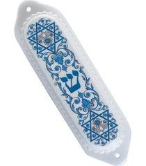 "spode ""judaica"" mezuzah case, 5.5"""