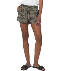 women's kut from the kloth elenora elastic waist shorts, size x-small - green