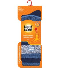heat holders men's lite jacquard thermal socks