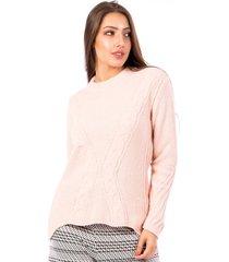 blusa tricot carlan evasê infinite decote redondo