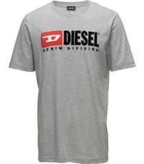 t-just-division t-shirt t-shirts short-sleeved grå diesel men