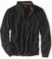 merino upton quarter-zip sweater