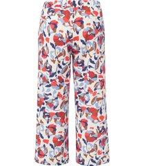 7/8-broek met rechte pijpen van emilia lay multicolour