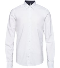 bhnail shirt slim fit skjorta business vit blend