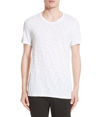 men's atm anthony thomas melillo crewneck t-shirt, size xx-large - white