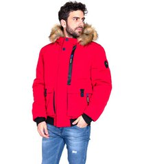 parka jas the wild stream limaya red