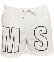 msgm swim trunks