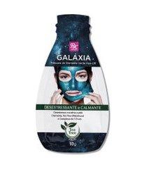 máscara facial de diamante rk by kiss galáxia verde peel-off único