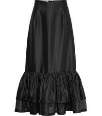 enola skirt knälång kjol svart designers, remix