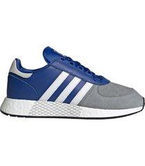 zapatilla azul adidas marathon tech