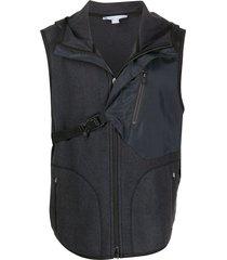 y-3 gray jacket