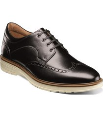 zapatos astor wingtip oxford negro florsheim