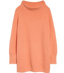 women's free people ottoman slouchy tunic, size x-large - orange