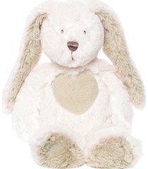 teddy cream kanin, liten, vit
