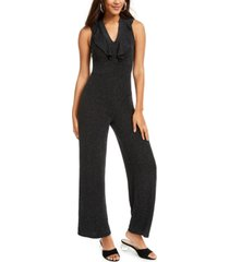 almost famous juniors' ruffle jumpsuit