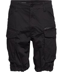 rovic zip relaxed 1\2 shorts casual svart g-star raw