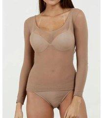 modelador marisa segunda pele feminino - feminino