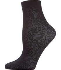 natori women's lily opaque anklet socks