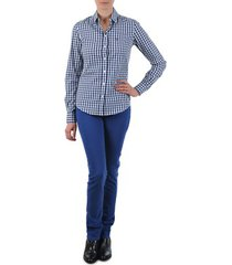 straight jeans gant n.y. kate colorful twill pant